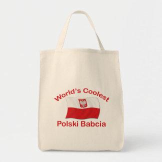 最もクールなPolski Babcia トートバッグ