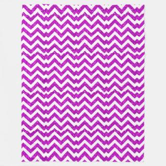 最も人気があるでかわいらしい紫色の人魚パターン フリースブランケット