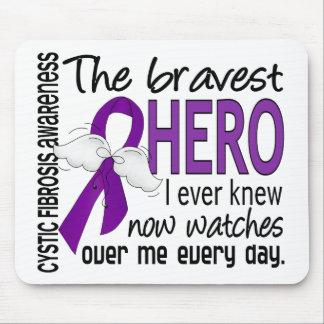 最も勇敢な英雄私は嚢胞性線維症を知っていました マウスパッド