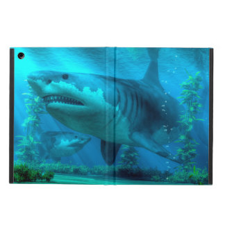 最も大きい鮫 iPad AIRケース