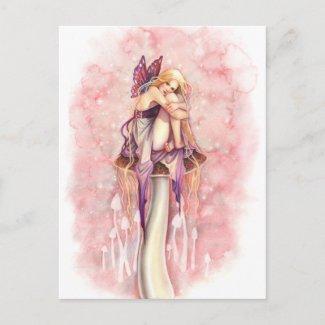 最も小さい妖精 ポストカード