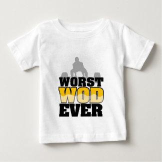 最も悪いWod ベビーTシャツ