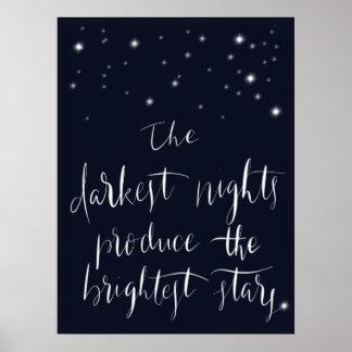 最も暗い夜ポスター ポスター