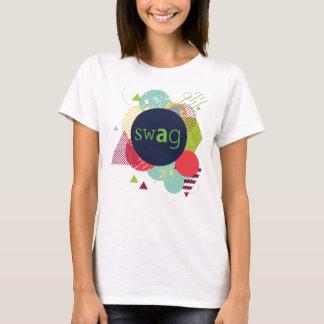 最も最近のスワッグのデザインの抽象芸術2016年 Tシャツ