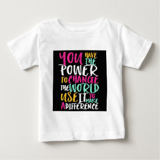 最も最高ので感動的な引用文 ベビーTシャツ