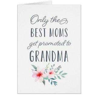 最も最高のなお母さんだけ祖母に促進されて得ます カード