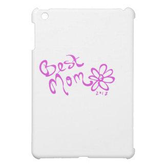 最も最高のなお母さんのデイジーのロゴ iPad MINIカバー