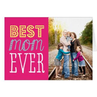 最も最高のなお母さんの母の日カード カード
