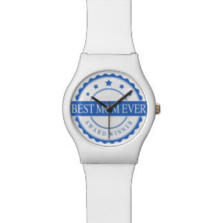最も最高のなお母さんの腕時計-勝者賞-青 腕時計