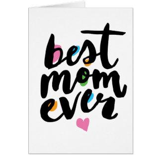 最も最高のなお母さん カード