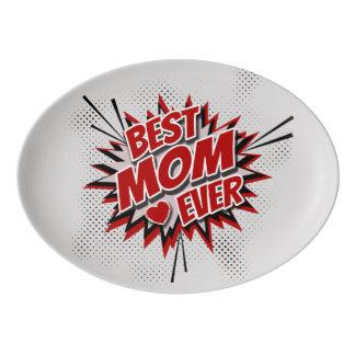 最も最高のなお母さん 磁器大皿