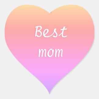 最も最高のなお母さんEmoji ハートシール