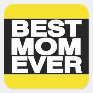 最も最高のなお母さんLgの黄色 スクエアシール