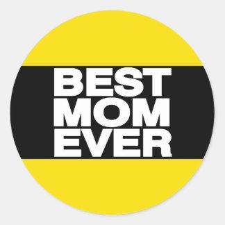 最も最高のなお母さんLgの黄色 ラウンドシール