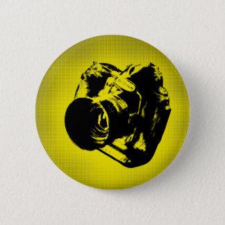 最も最高のなカメラ! 5.7CM 丸型バッジ