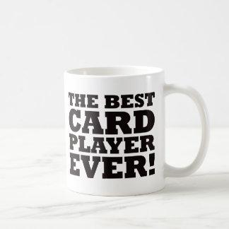 最も最高のなカードプレーヤー コーヒーマグカップ