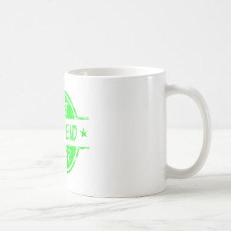 最も最高のなガールフレンドの緑 コーヒーマグカップ