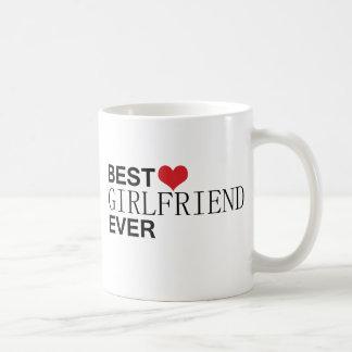最も最高のなガールフレンド コーヒーマグカップ
