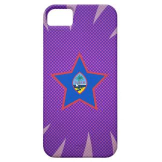 最も最高のなグアムの旗のデザイン iPhone SE/5/5s ケース