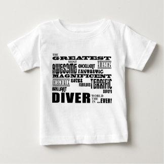 最も最高のなダイバー: すばらしいダイバー ベビーTシャツ