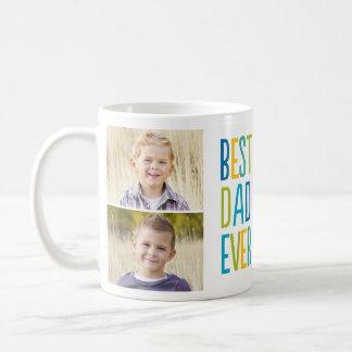 最も最高のなパパのカスタムな写真のマグ コーヒーマグカップ