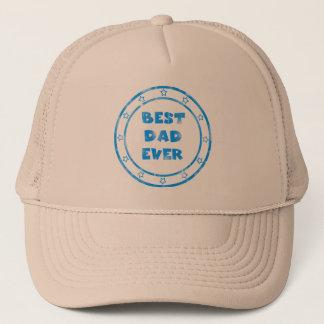 最も最高のなパパのグランジなスタンプの帽子 キャップ
