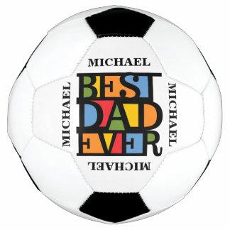 最も最高のなパパの名前をカスタムするのサッカーボール サッカーボール