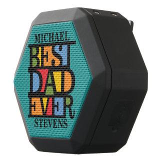 最も最高のなパパの名前をカスタムするのスピーカー ブラックBluetoothスピーカー
