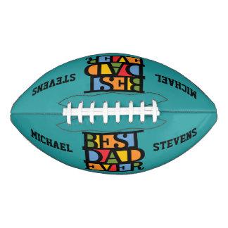 最も最高のなパパの名前をカスタムする及び色のフットボール アメリカンフットボール