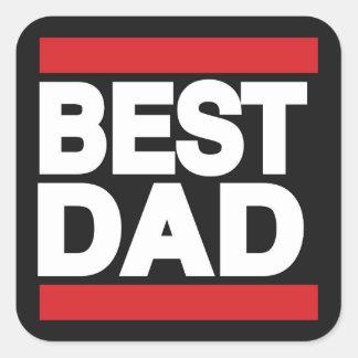 最も最高のなパパの赤 スクエアシール