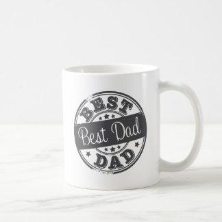 最も最高のなパパ-ゴム印の効果- コーヒーマグカップ