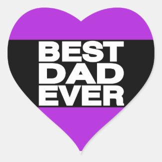 最も最高のなパパLgの紫色 ハートシール