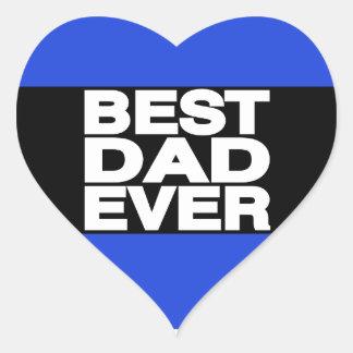 最も最高のなパパLgの青 ハートシール