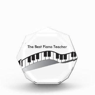 最も最高のなピアノの教師賞 表彰盾
