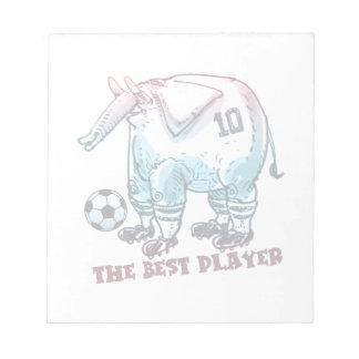 最も最高のなプレーヤー象の漫画 ノートパッド