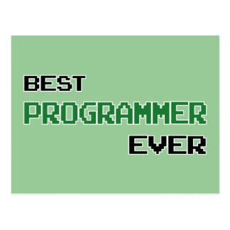 最も最高のなプログラマー はがき