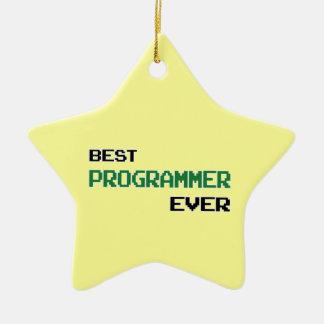 最も最高のなプログラマー セラミックオーナメント