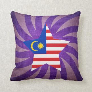 最も最高のなマレーシアの旗のデザイン クッション