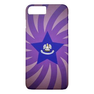 最も最高のなルイジアナの旗のデザイン iPhone 8 PLUS/7 PLUSケース