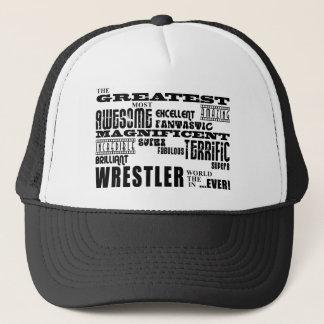 最も最高のなレスリング選手: すばらしいレスリング選手 キャップ