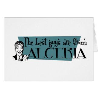 最も最高のな人はアルジェリアからあります カード