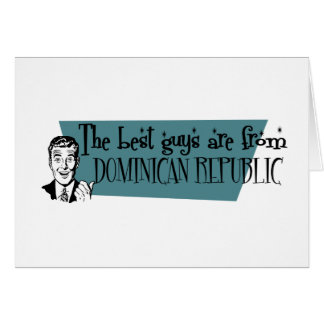 最も最高のな人はドミニカ共和国からあります カード