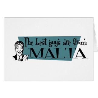 最も最高のな人はマルタからあります カード
