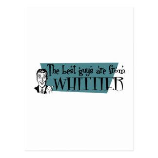 最も最高のな人はWhittierからあります ポストカード