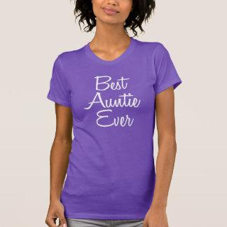 最も最高のな伯母さんの女性のワイシャツ Tシャツ