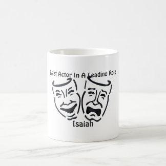 最も最高のな俳優か先導的な役割: アイザイア コーヒーマグカップ