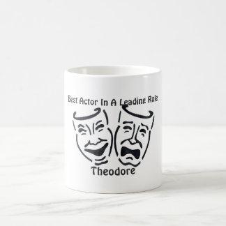 最も最高のな俳優か先導的な役割: セオドア コーヒーマグカップ