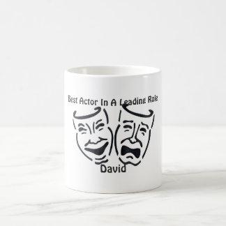 最も最高のな俳優か先導的な役割: デイヴィッド コーヒーマグカップ