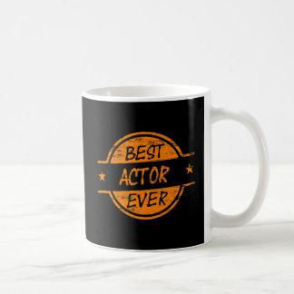 最も最高のな俳優Orange.png コーヒーマグカップ