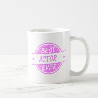 最も最高のな俳優Pink.png コーヒーマグカップ